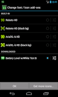 Screenshot of BN Pro Battery Level-WhiteB