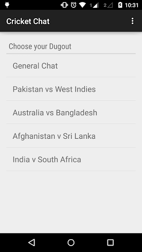 Cricket Chat - World Cup 2015