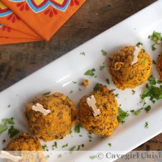 Sausage & Sweet Potato Biscuit Bites (paleo appetizer)
