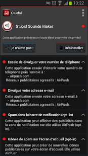 Clueful Privacy Advisor Capture d'écran