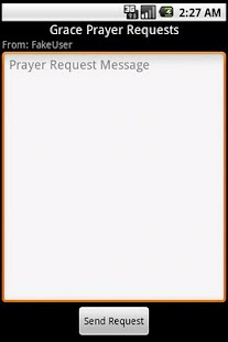 Grace Prayer Requests - screenshot thumbnail