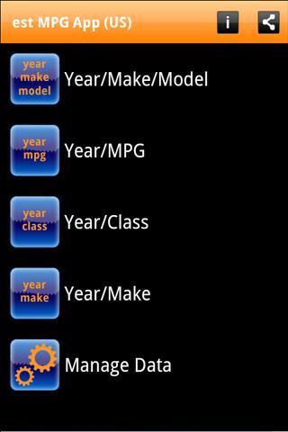 est MPG App (US) - screenshot