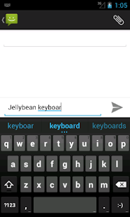 Android Jelly Bean Keyboard - screenshot thumbnail