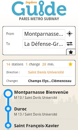 Paris metro subway guide 2.2.9 screenshot 387302