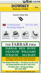 Downey Publishing Yellow Pages- screenshot thumbnail