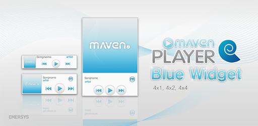 MAVEN Player Blue Widget on Windows PC Download Free - 1 0 1 - com