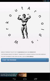 Arnold's Workout - screenshot thumbnail