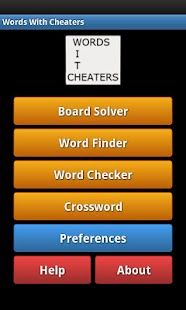 Words With Cheaters Free- screenshot thumbnail