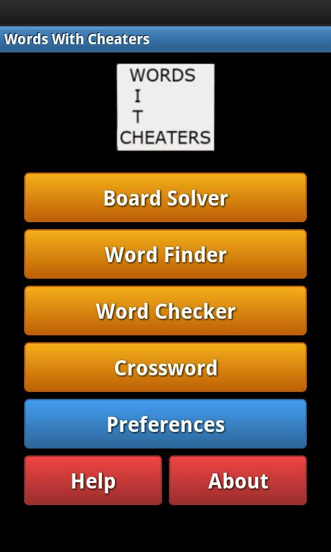 Words With Cheaters Free- screenshot