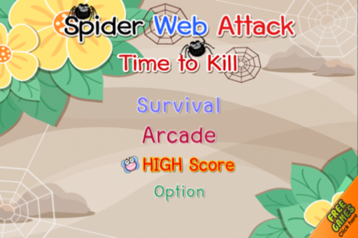 Spider Web Attack:Time To Kill