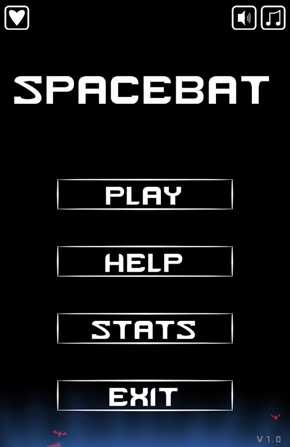 Spacebat- screenshot