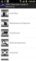 Screenshot of Complete Car Care Free Edition