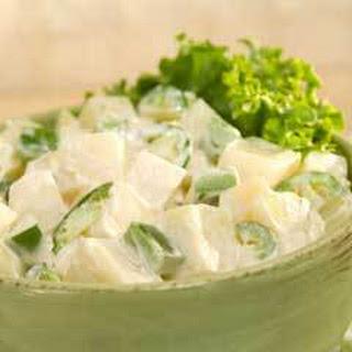 Potato & Jicama Salad.