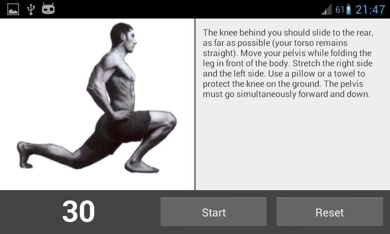 Stretching Flex - screenshot