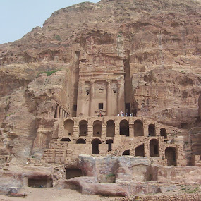 by William Stansbury - Buildings & Architecture Public & Historical ( tomb, jordan, stone, kings, petra,  )