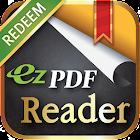 ezPDF Reader for Redeem Code icon