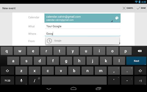Google 日曆 生產應用 App-癮科技App