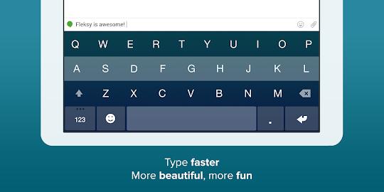 Fleksy Keyboard Free Screenshot 2