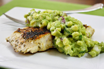Blackened Fish with Avocado Corn Salsa