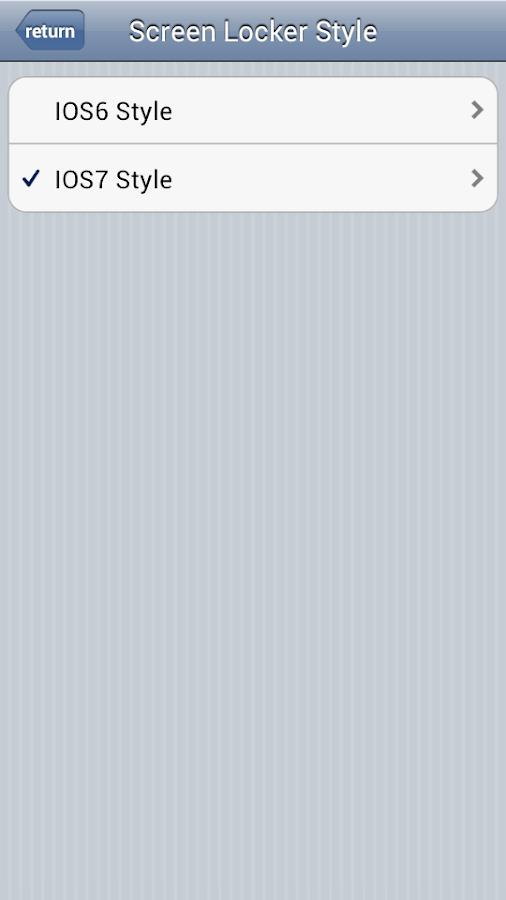 iPhone 5S Lock Screen - screenshot