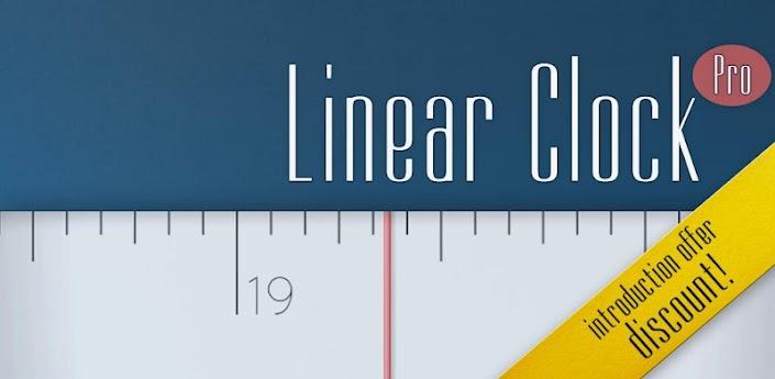 Linear Clock Pro (+Widget) apk