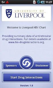 HIV iChart - screenshot thumbnail