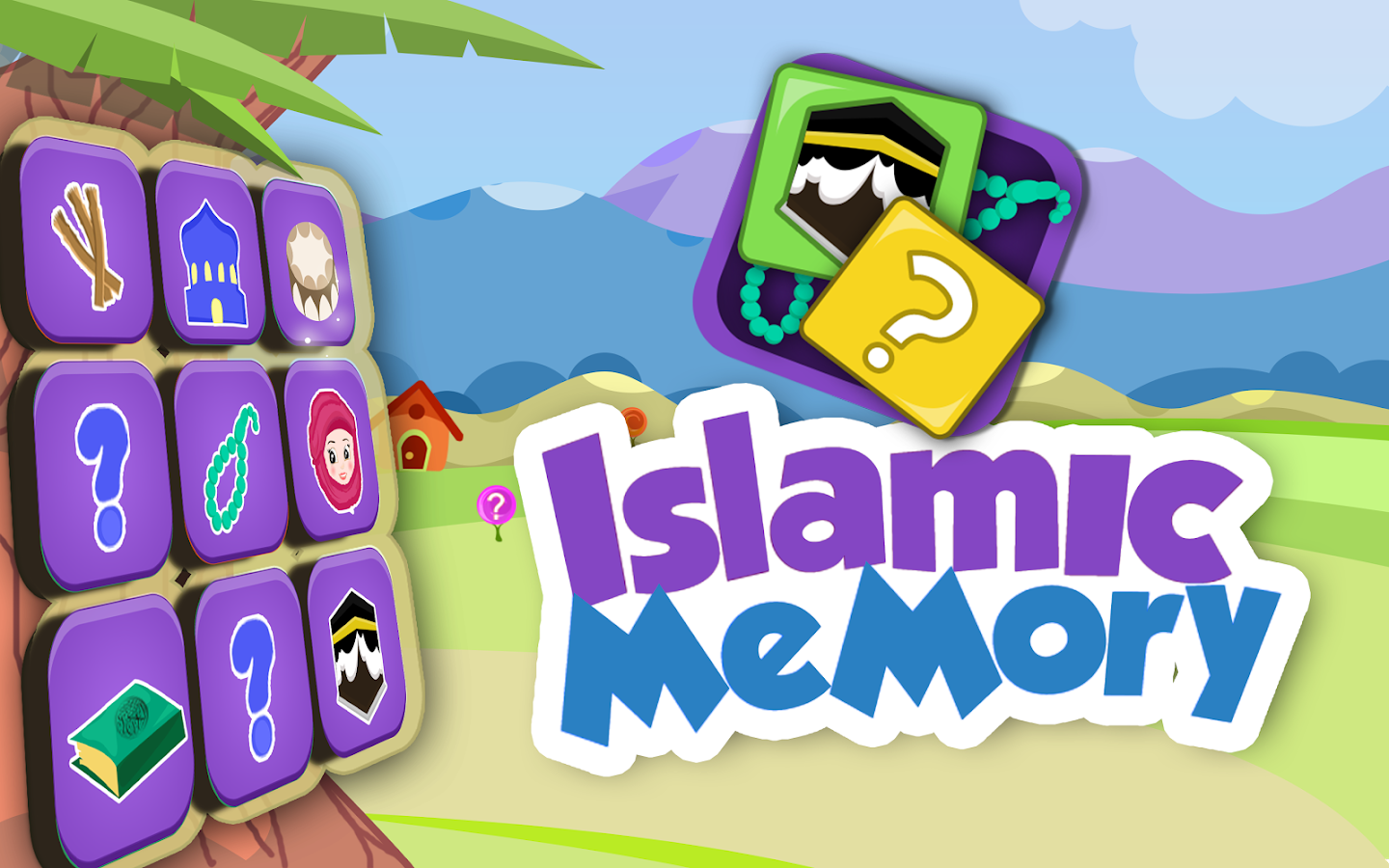 Kids Islamic Memory Game- screenshot