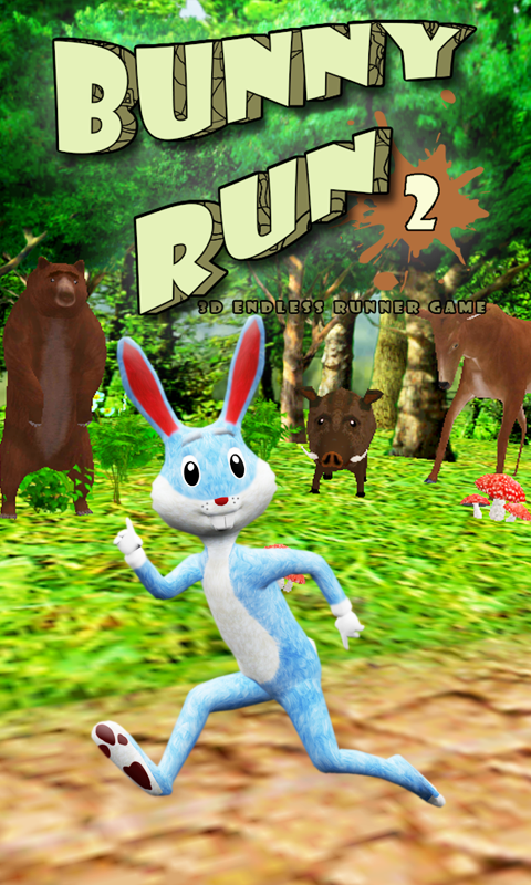 Bunny Run and Jump - screenshot