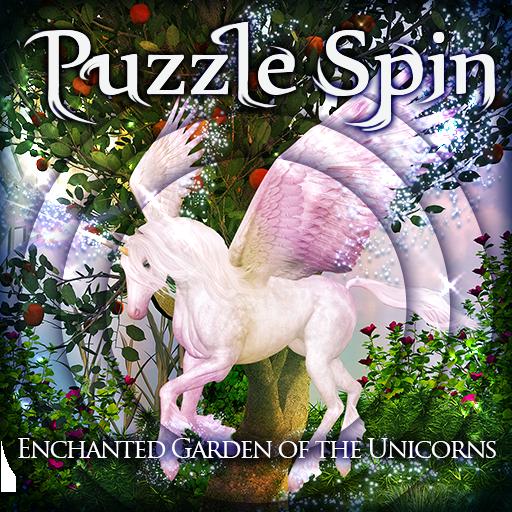 PuzzleSpin - Unicorns LOGO-APP點子