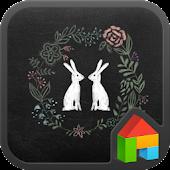 Rabbit dodol luancher theme