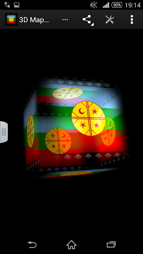 3D Mapuche Live Wallpaper
