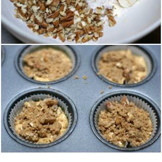 Pumpkin Muffins with Cinnamon-Pecan Streusel