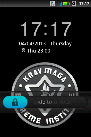Krav Maga Extr Go Locker theme