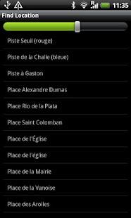 Val Cenis Street Map- screenshot thumbnail