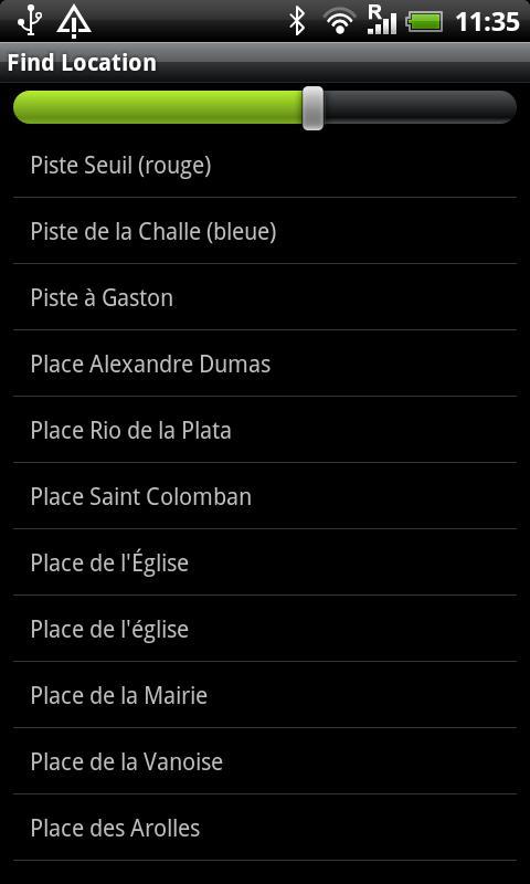 Val Cenis Street Map- screenshot