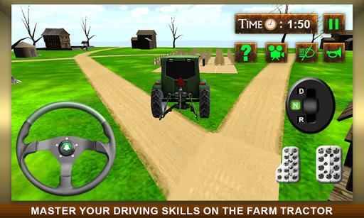 真正的农用拖拉机仿真3D