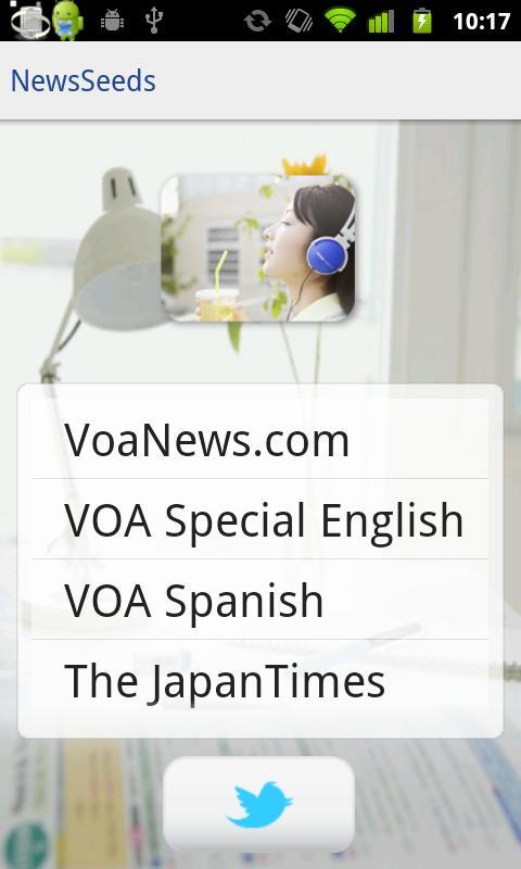 英語力UP:NewsSeeds:VOAの最新ニュース対応- スクリーンショット