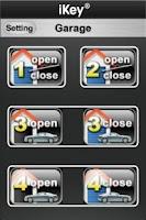 Screenshot of iKeyGarage