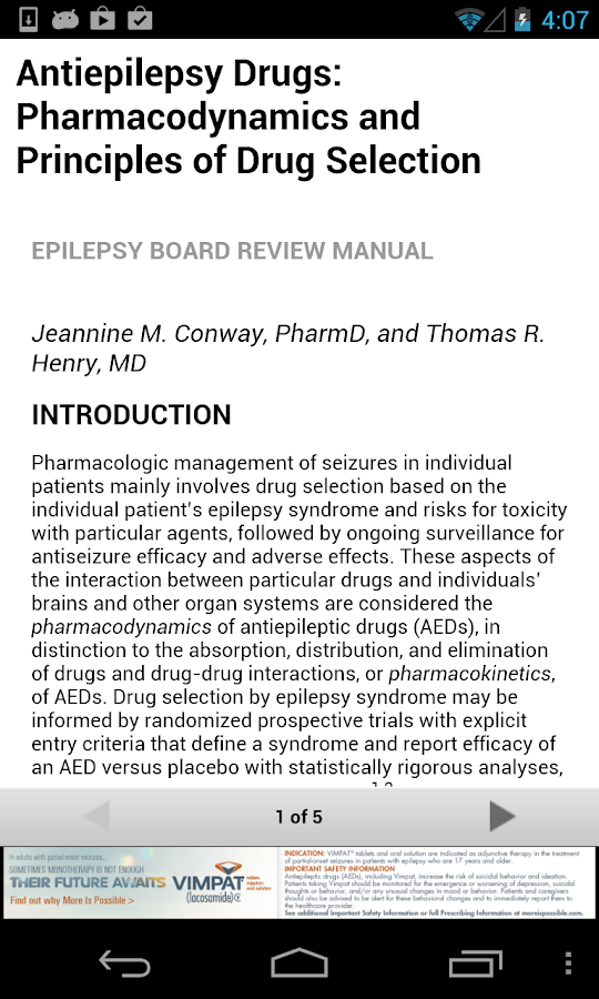 Epilepsy Board Review Manual - screenshot