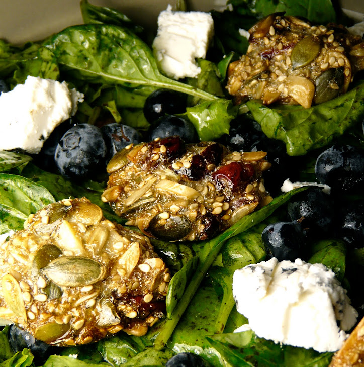 Seed Beads for a Goat Cheese and Blueberry Salad Recipe