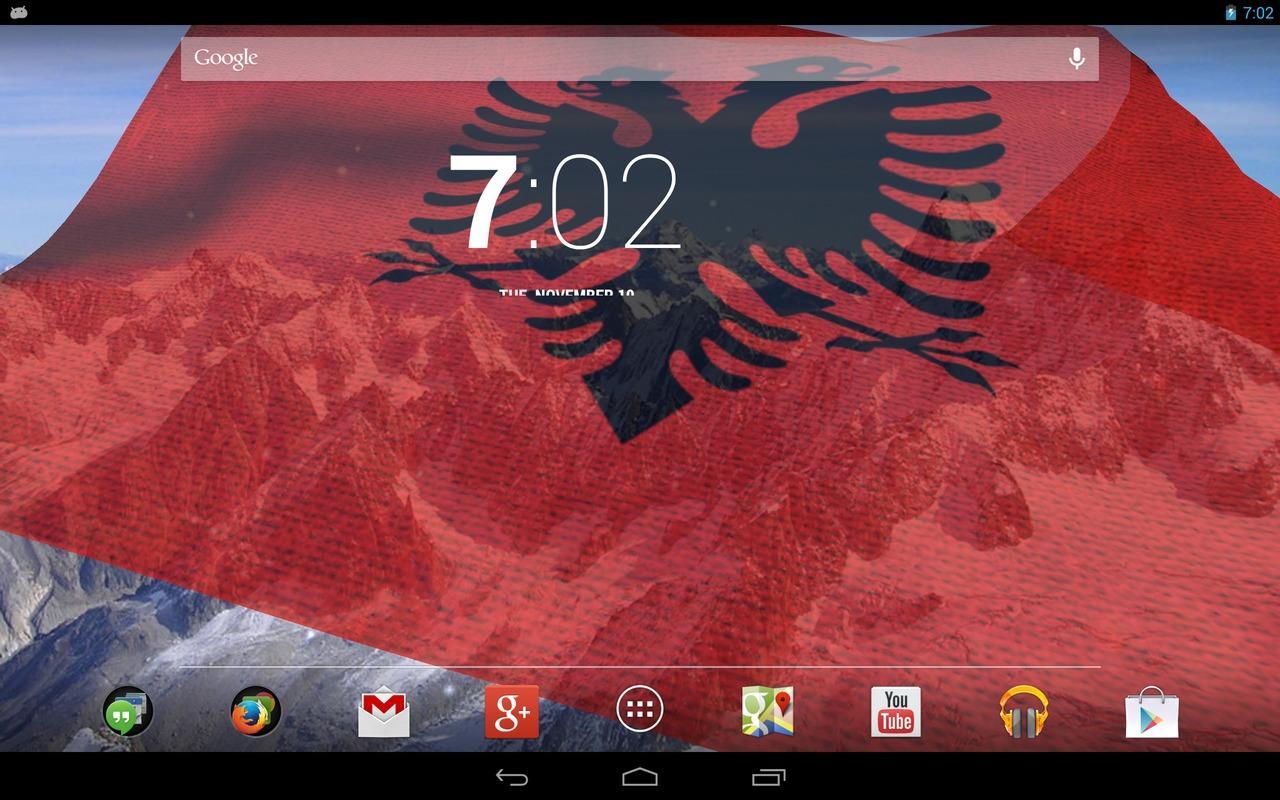 D Albania Flag Android Apps On Google Play - Albanian flag