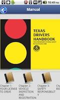 Screenshot of Driver License Test Texas