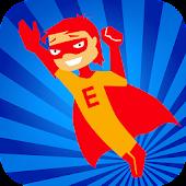 Superhero Fry Words