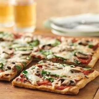Mushroom-Pesto Grilled Pizza