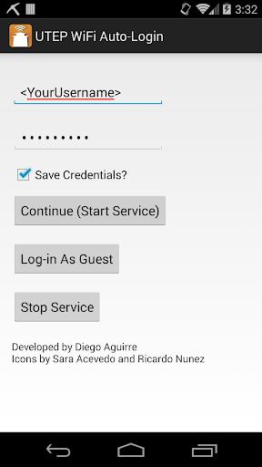 UTEP WiFi Auto-Login