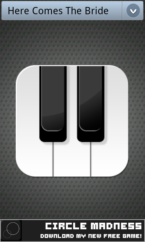 Piano Button - screenshot