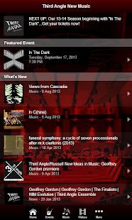 Third Angle New Music - screenshot thumbnail