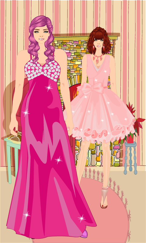 Dress Up Fashion Girls Game - screenshot