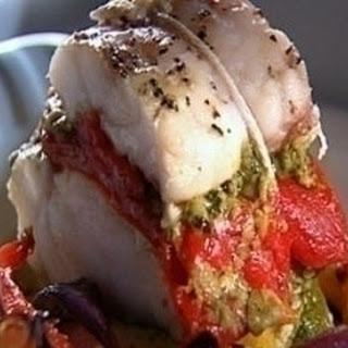 Roast Monkfish With Pesto Trapanese