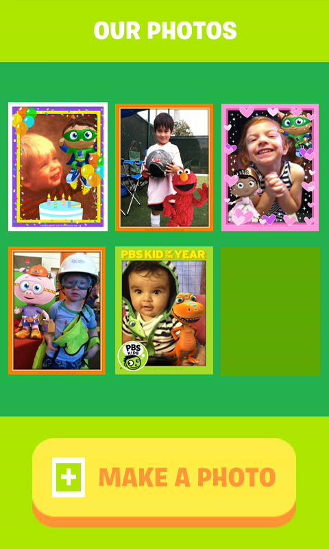 PBS KIDS Photo Factory- screenshot